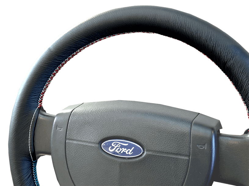 Ford Leather Steering Wheel Cover